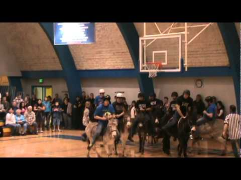 Donkey Basketball At Ferndale High School Gym 01 07 12 #9