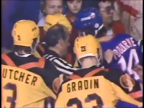 Game 4 1982 Stanley Cup Final Islanders at Canucks WOR-TV Broadcast