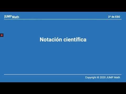 2º. Unidad 2. Notación científica