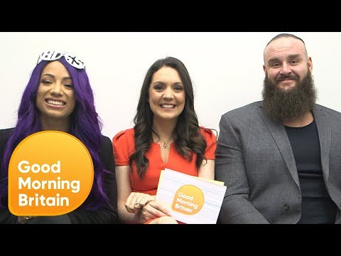 Braun Strowman Wouldn't Mind Taking Piers on in the Ring | Good Morning Britain