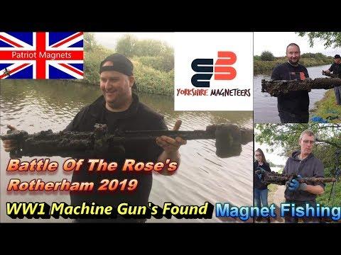 WW1 Machine Guns Found Magnet Fishing 2019