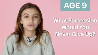 70 Women Ages 5-75 Answer: What Possession Would You Never Give Up? | Glamour