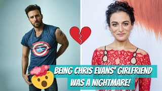 Being Chris Evans' Girlfriend Was A Nightmare