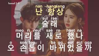 [KARAOKE] Eddy Kim - You Are So Beautiful (이쁘다니까)