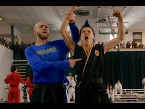 Cobra Kai - Transformation of Eli to Hawk
