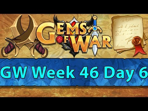 ⚔️ Gems of War Guild Wars | Week 46 Day 6 | Goblins Everywhere Next Week...  ⚔️