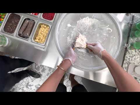 Making Rolled Ice Cream - Dylan Lemay