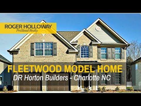 Dr Horton Charlotte Nc Floor Plans The Fleetwood Youtube
