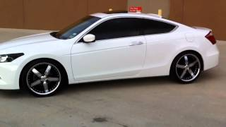 Honda Accord Coupe Staggered on 20