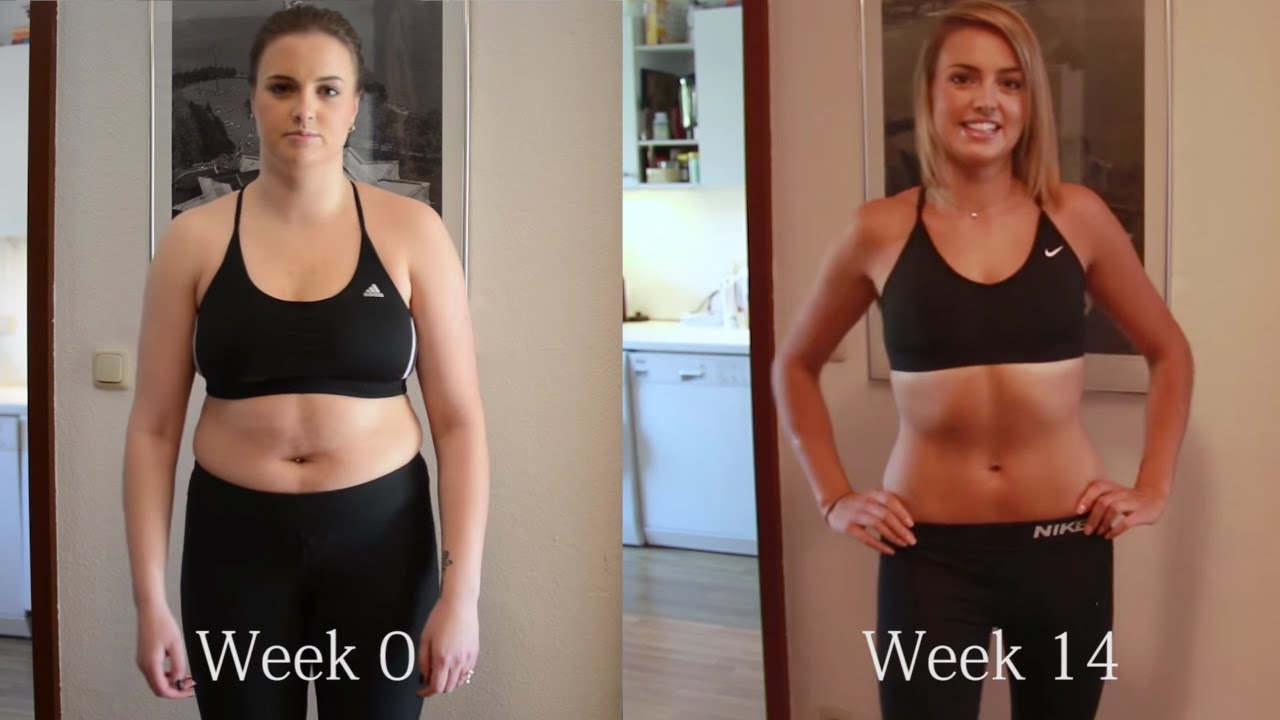 My WEIGHT LOSS BODY TRANSFORMATION in 14 WEEKS with ...