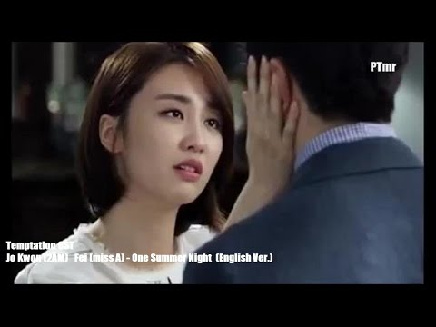 One Summer Night (English Ver.) (ENG.SUB.) Jo Kwon (2AM) Fei (miss A) [Temptation OST]