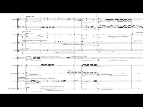"Percussion Ensemble - ""Escaping A Nightmare"" - 12 YEAR UPDATE!!"