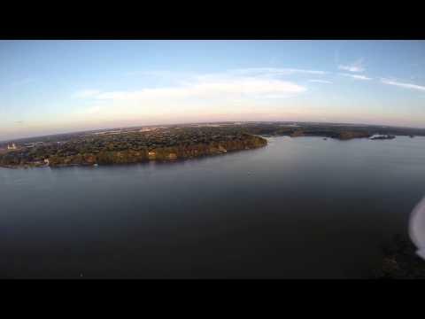 Micah + Kelly + Drone + Walbridge Park, Toledo, OH