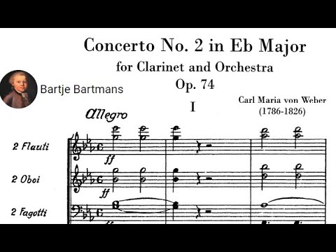 Carl Maria Von Weber - Clarinet Concerto No. 2 In E Flat Major, Op. 74