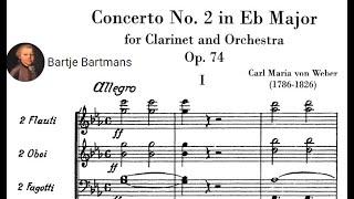 Carl Maria von Weber - Clarinet Concerto No. 2 in E flat major, Op. 74