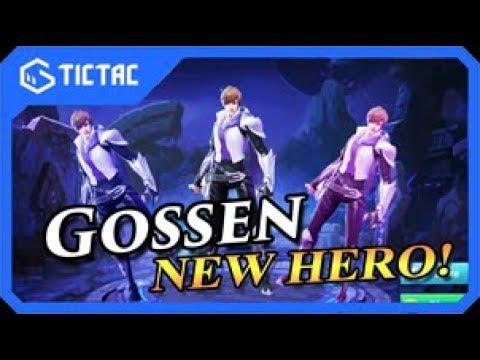 [Mobile Legends] New Hero Gossen