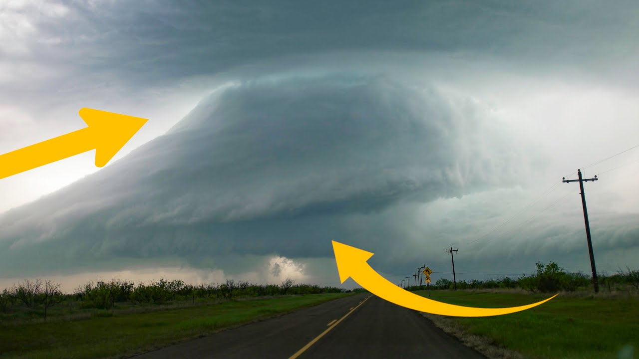 Beautiful Supercell Timelapse! 4-27-2021