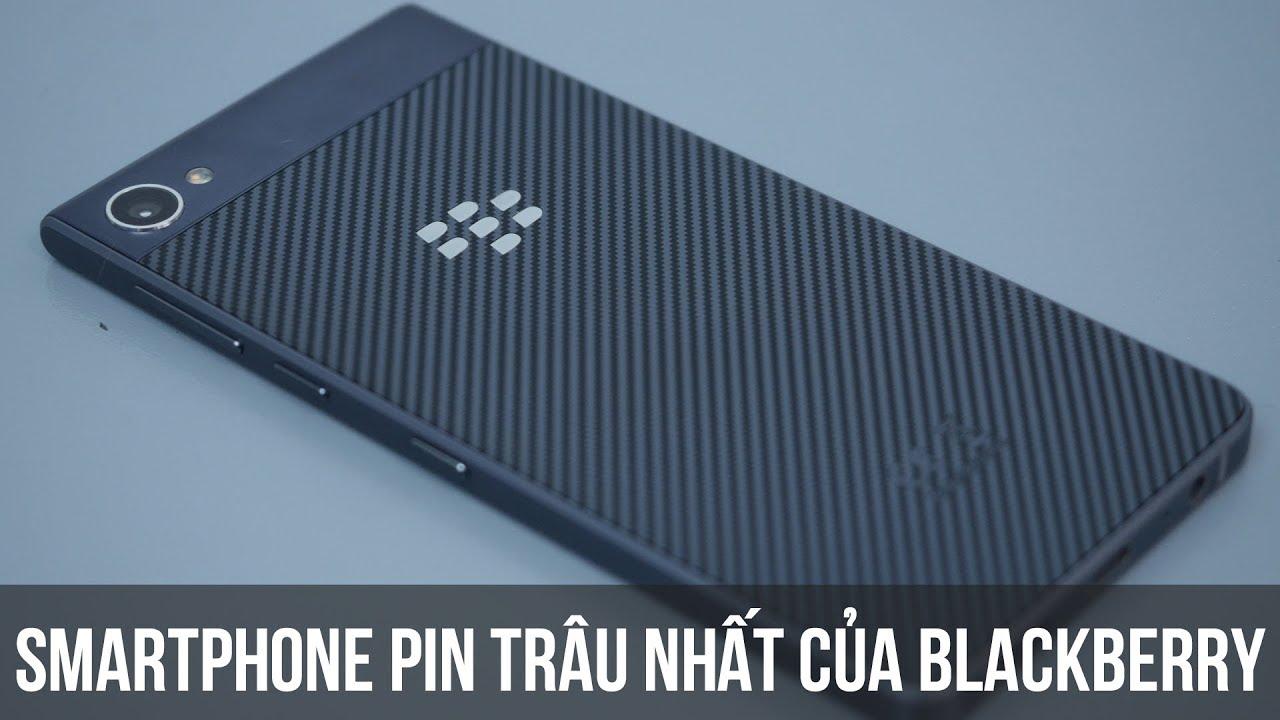 Mở hộp smartphone Chống nước – Pin khủng nhất của Blackberry – BlackBerry Motion
