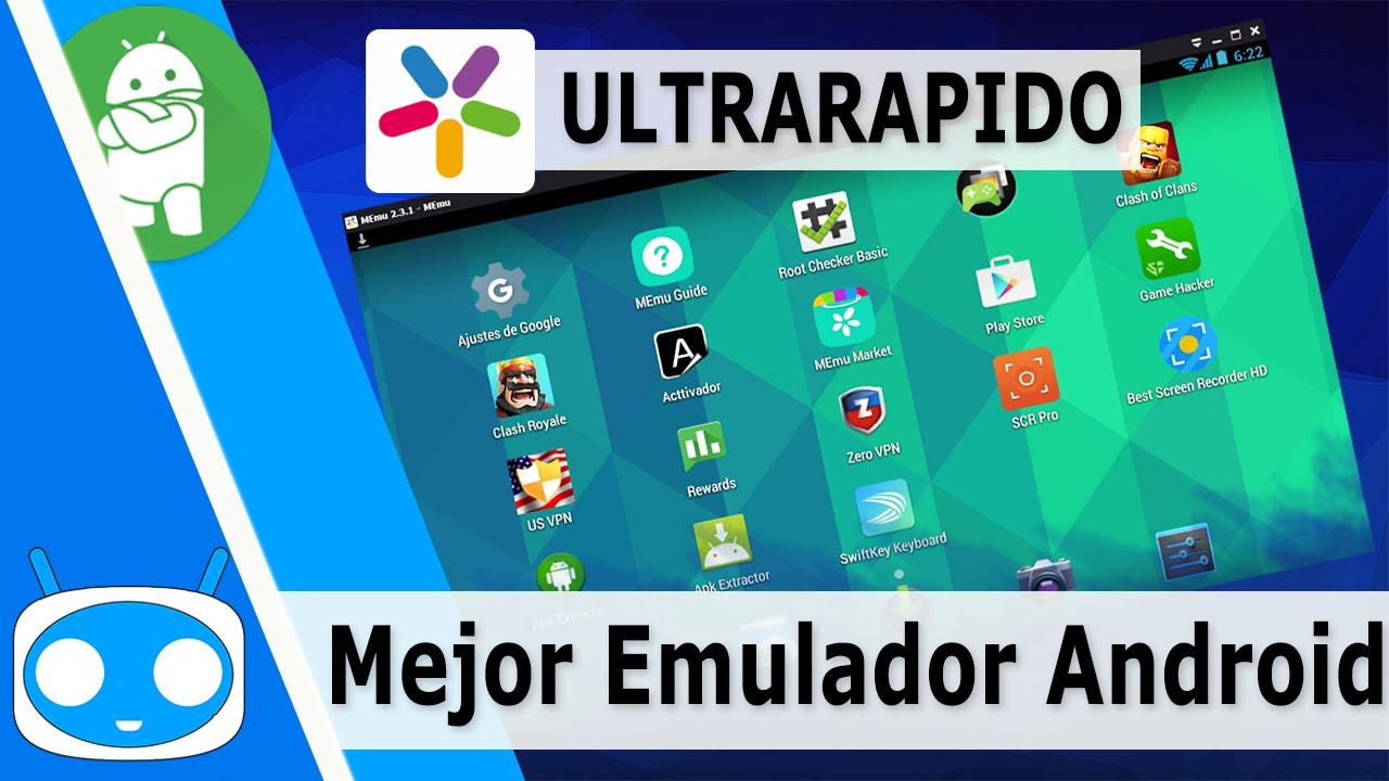 El Mejor Emulador Android Para Pc 2020 Rápido Y Ligero Youtube