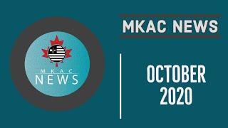 MKAC News - October 2020