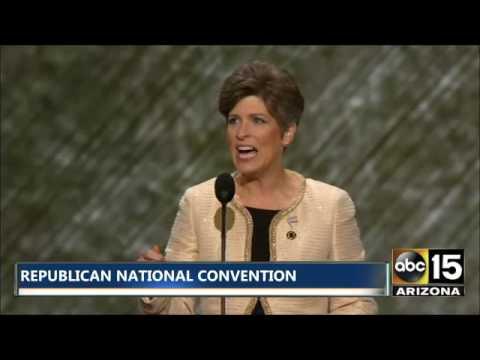 FULL SPEECH: Senator Joni Ernst at Republican National Convention