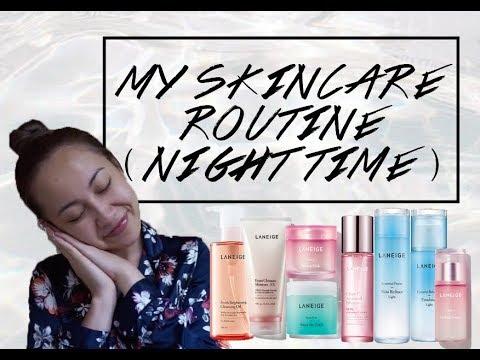 My Night Time Skincare Routine ★ Tysha Tiar