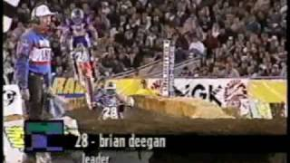 Metal Mulisha - Deegan Ghostride 1997 LA Coliseum supercross