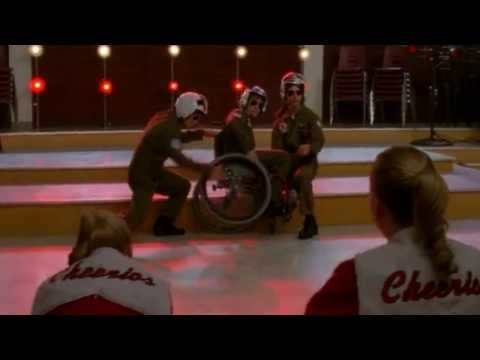 GLEE - Old Time Rock & Roll/Danger Zone (Full Performance) (Official Music Video) HD