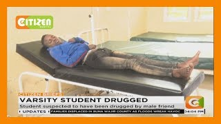 Female student of Maasai Mara University in hospital after getting drugged