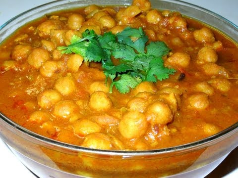 Cholle Bhature (Chana Masala) Chickpeas...