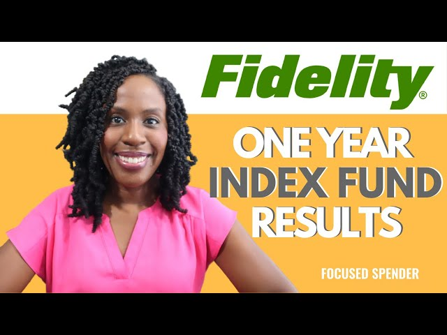 My Low Fee Fidelity Index Fund Year One Results! Was the Switch from E-Trade to Fidelity Worth it??