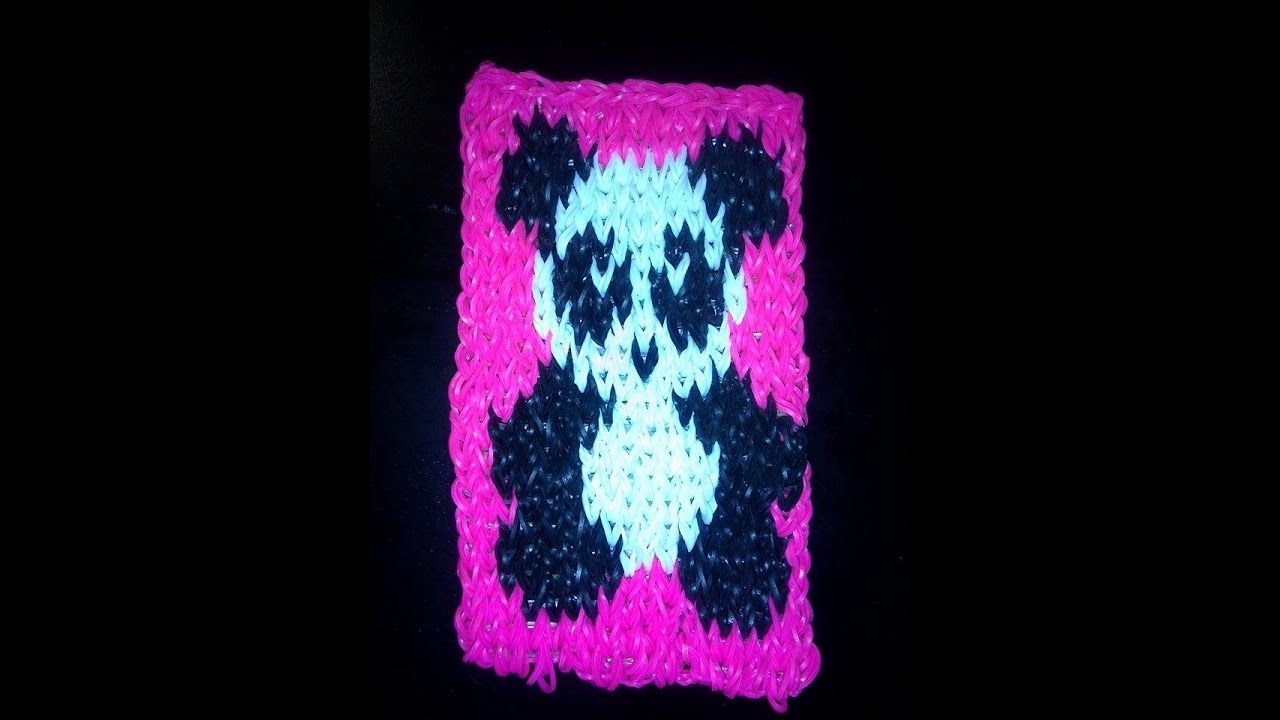 Panda mural en loom tutoriel en fran ais youtube for Mural en francais