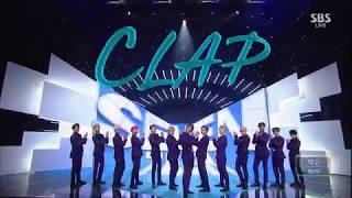 SEVENTEEN (세븐틴) - CLAP (박수) Comeback Week Stage Mix 무대모음 교차편집