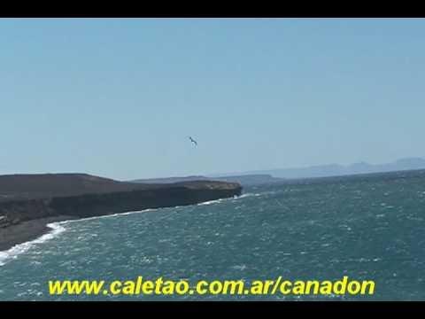«Mar Argentino desde la Playa Los Sauces»