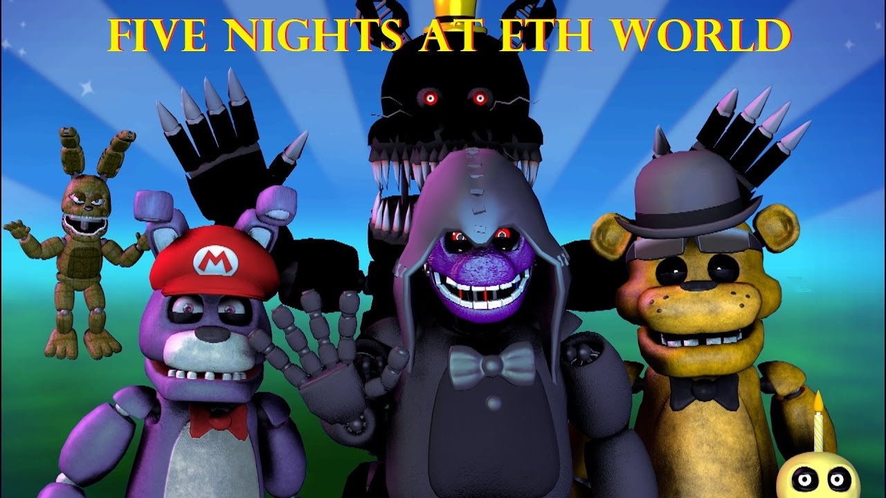 FIVE NIGHTS AT ETH WORLD episode 1 - YouTube