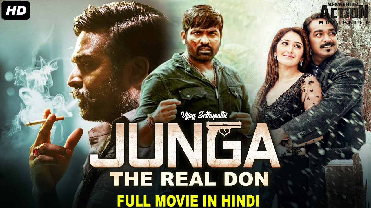 Download JUNGA THE REAL DON - Blockbuster Hindi Dubbed Full Action Movie  South Indian Movies Dubbed In Hindi
