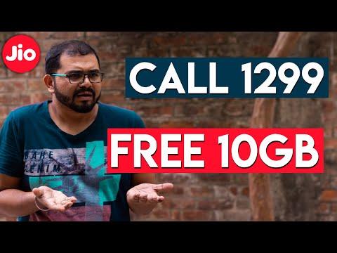 Jio Sim Se Call Karey 1299 Pe Aur 10GB Data Free Milega