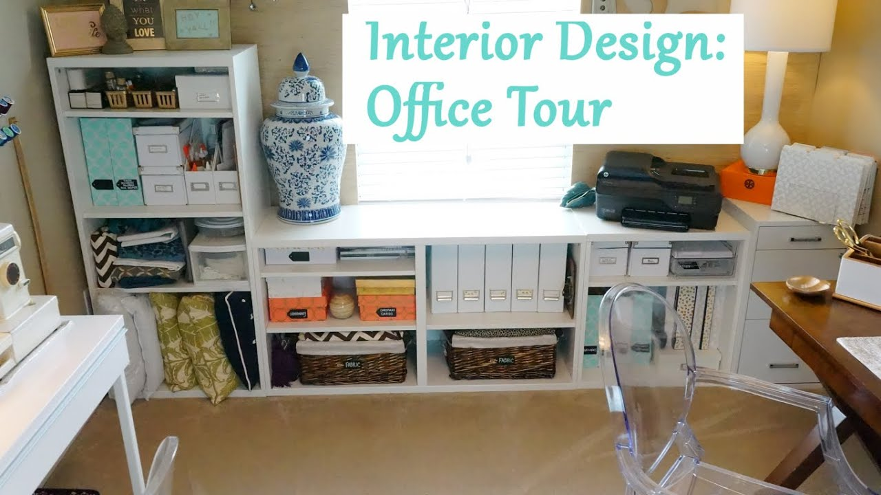 interior design office tour decor tips youtube