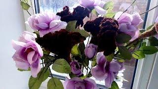 Сухоцветы из целозии  Воспоминание о лете