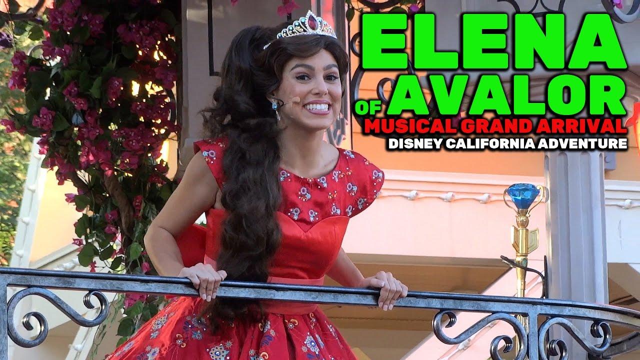 3f54fa1893d Elena of Avalor  Musical Grand Arrival NEW FULL SHOW Christmas 2016 at  Disney California Adventure - YouTube