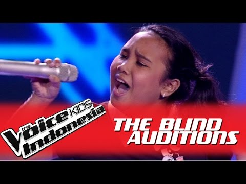 """Kinan """"Focus"""" I The Blind Auditions I The Voice Kids Indonesia GlobalTV 2016"""