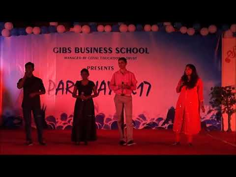"GIBS Fresher's Party - ""PARICHYA2k17"" - Top 10 BBA/BCOM Colleges in Bangalore"