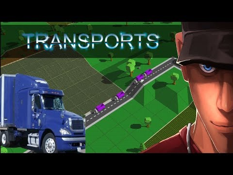Transports Game First look - how NOT to start a transport company | Let's Play Transports Game