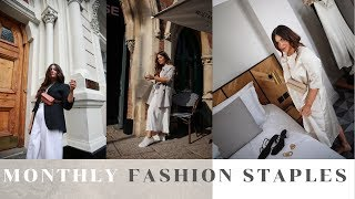 FASHION// Monthly Fashion Staples// ASOS, COS, ARKET...