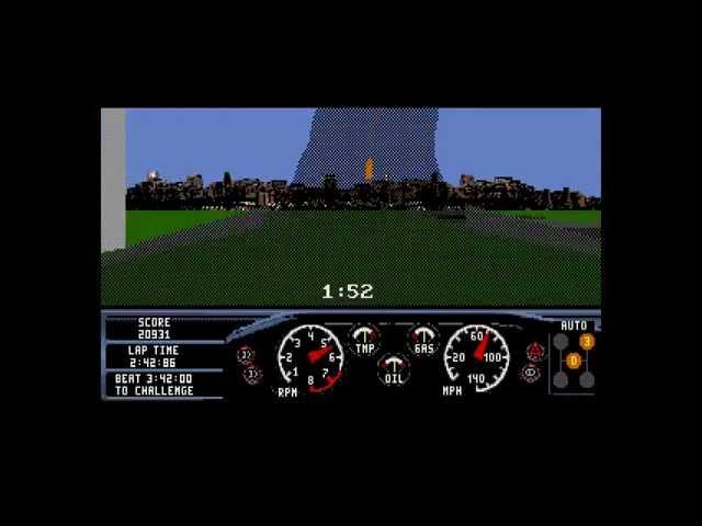 Race Drivin ... (Sega Genesis)