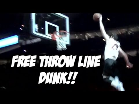 """6'3"""" Jared Roth wins Chicago Dunk Contest -  Free Throw Line DUNK!"""