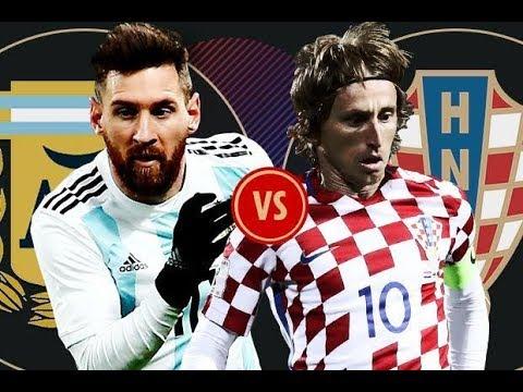 Argentina vs Croatia 0-3 ngày 21-06-2018 Clip Bàn Thắng và Kết Quả HD