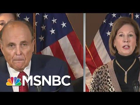 Entertaining Trump's Post-Election Antics Begins To Backfire On Republican Interests | Rachel Maddow