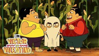 Haunted Corn Maze | Victor and Valentino | Cartoon Network