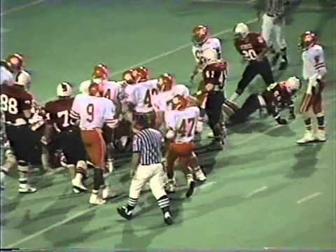WFHS Coyotes vs San Angelo Central 1989